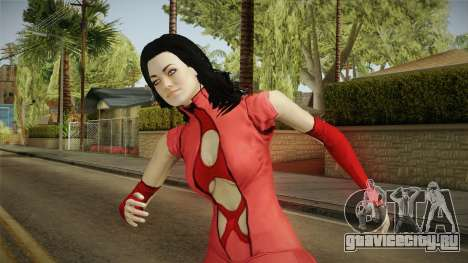 Mass Effect 3 Miranda DLC Citadel Dress Red для GTA San Andreas