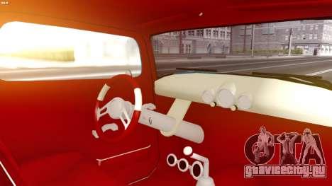 Ford Hot-Rod для GTA San Andreas вид сзади слева