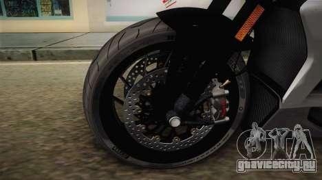 Ducati XDiavel S 2016 HQLM для GTA San Andreas вид сзади