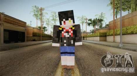 Minecraft Tokiasaki Kurumi Skin для GTA San Andreas второй скриншот