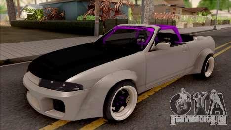 Nissan Skyline R33 Cabrio Drift Rocket Bunny для GTA San Andreas