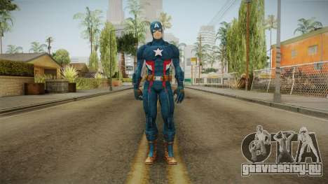 Marvel Heroes - Captain America для GTA San Andreas второй скриншот