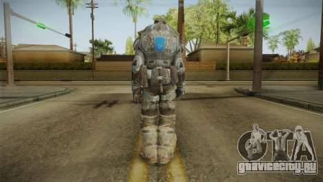 Marcus Fenix Skin v2 для GTA San Andreas третий скриншот