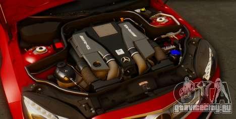 Mercedes-Benz E-class AMG IV для GTA San Andreas вид снизу