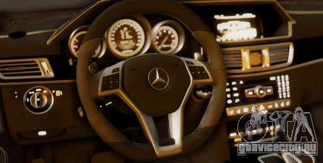 Mercedes-Benz E-class AMG IV для GTA San Andreas салон