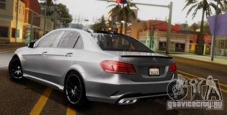 Mercedes-Benz E-class AMG IV для GTA San Andreas вид изнутри
