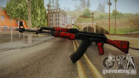 CS: GO AK-47 Red Laminate Skin для GTA San Andreas