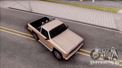 Rancher Hunter для GTA San Andreas вид справа