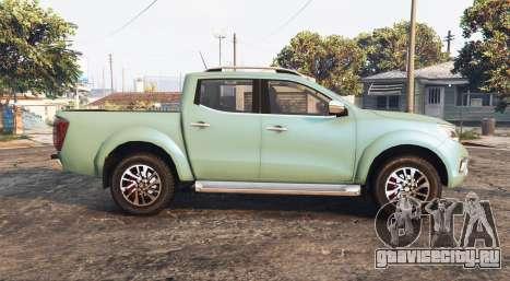 Nissan Frontier (D23) 2017 [replace] для GTA 5 вид слева
