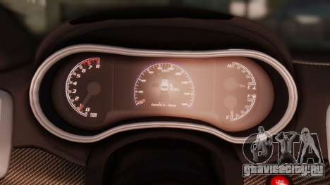 Jeep Grand Cherokee SRT 8 для GTA San Andreas вид сверху