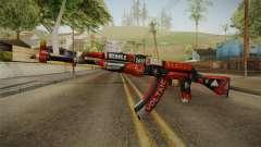 CS: GO AK-47 Bloodsport Skin для GTA San Andreas