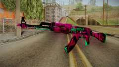 CS: GO AK-47 Neon Revolution Skin для GTA San Andreas