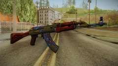 CS: GO AK-47 Case Hardened Skin для GTA San Andreas