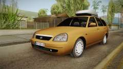 Lada Priora SW Sommerzeit для GTA San Andreas