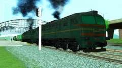 Грузовой тепловоз 2M62 1184 для GTA San Andreas