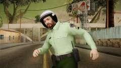 Iranian Cop Biker Skin для GTA San Andreas