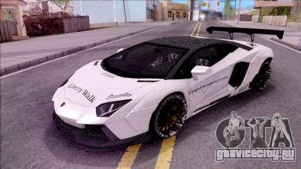 Lamborghini Aventador LP700-4 LB Walk Custom для GTA San Andreas