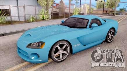 Dodge Viper SRT-10 для GTA San Andreas