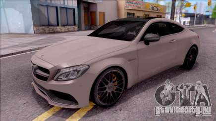 Mercedes-Benz C63S AMG Coupe 2016 для GTA San Andreas