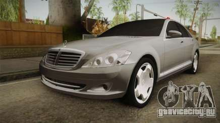 Mercedes-Benz S500 2013 для GTA San Andreas