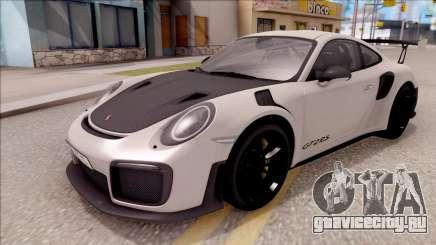Porsche 911 GT2 RS 2017 EU Plate для GTA San Andreas