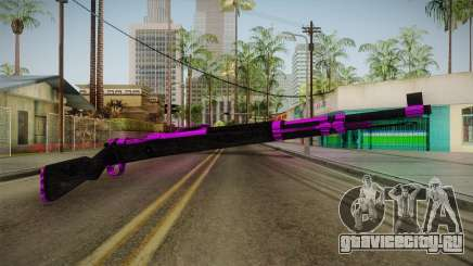 Purple Rifle для GTA San Andreas