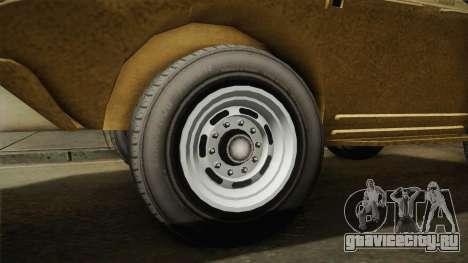 GTA 5 HVY APC для GTA San Andreas вид сзади