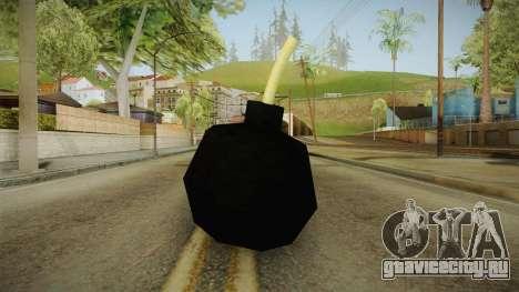 Cartoonish Bomb для GTA San Andreas