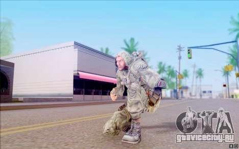 Волк из S.T.A.L.K.E.R для GTA San Andreas пятый скриншот