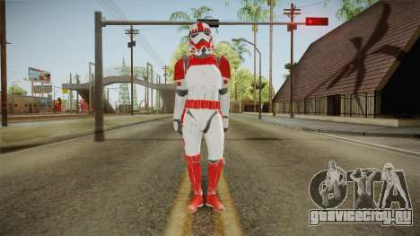 Star Wars Battlefront 3 - Shocktrooper для GTA San Andreas второй скриншот