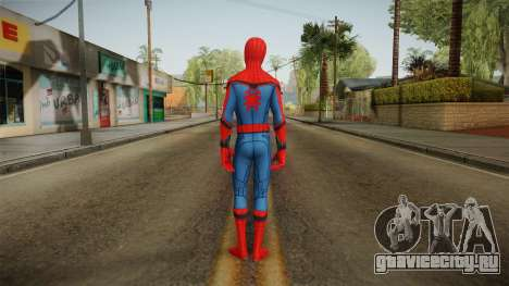 Spiderman Homecoming Skin v1 для GTA San Andreas третий скриншот