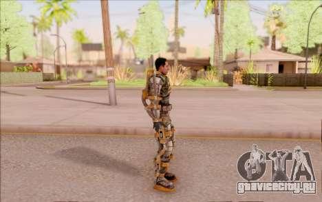 Дегтярёв в экзоскелете Свободы из S.T.A.L.K.E.R. для GTA San Andreas третий скриншот
