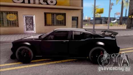 GTA V Bravado Buffalo Edition для GTA San Andreas вид слева