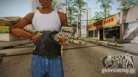 GTA 5 Camo Light Machine Gun для GTA San Andreas