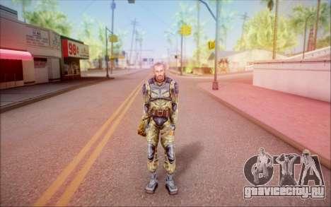 Кэп из S.T.A.L.K.E.R для GTA San Andreas второй скриншот