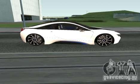 BMW i8 Armenian для GTA San Andreas вид слева
