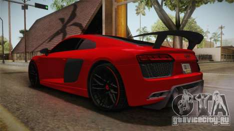 Audi R8 Vorsteiner для GTA San Andreas вид справа