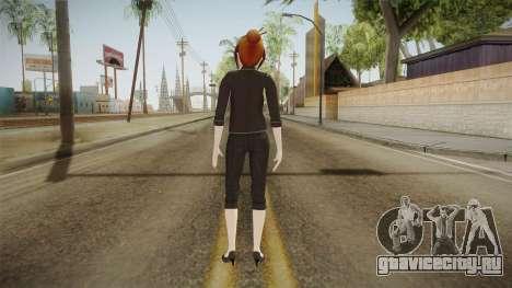 Yandere Simulator - Rino Fuka Skin для GTA San Andreas третий скриншот