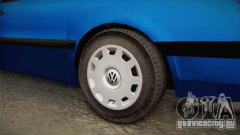 Volkswagen Vento TDI для GTA San Andreas вид сзади
