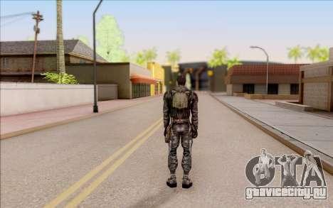 Дегтярёв в бронежилете из S.T.A.L.K.E.R. для GTA San Andreas четвёртый скриншот