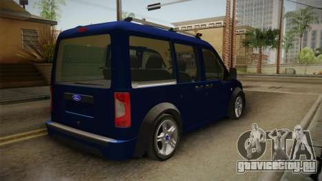 Ford Tourneo Connect 2012 для GTA San Andreas вид справа