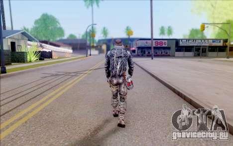 Генерал Воронин из S.T.A.L.K.E.R для GTA San Andreas четвёртый скриншот