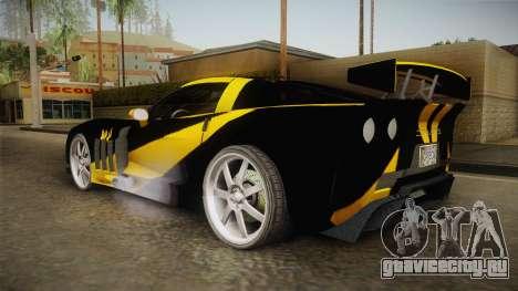 NFS Carbon - Chevrolet Corvette Z06 v2 для GTA San Andreas