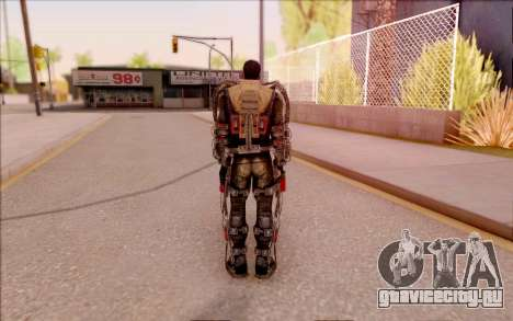 Дегтярёв в экзоскелете из S.T.A.L.K.E.R. для GTA San Andreas пятый скриншот