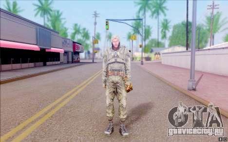 Волк из S.T.A.L.K.E.R для GTA San Andreas второй скриншот