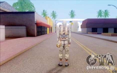 Волк из S.T.A.L.K.E.R для GTA San Andreas четвёртый скриншот