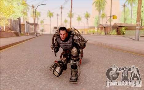 Дегтярёв в экзоскелете из S.T.A.L.K.E.R. для GTA San Andreas шестой скриншот
