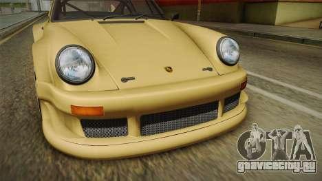 Porsche 911 Carrera RSR для GTA San Andreas вид сбоку