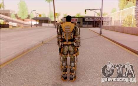 Дегтярёв в экзоскелете Свободы из S.T.A.L.K.E.R. для GTA San Andreas четвёртый скриншот