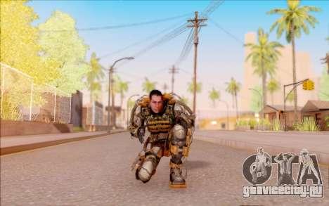 Дегтярёв в экзоскелете Свободы из S.T.A.L.K.E.R. для GTA San Andreas пятый скриншот